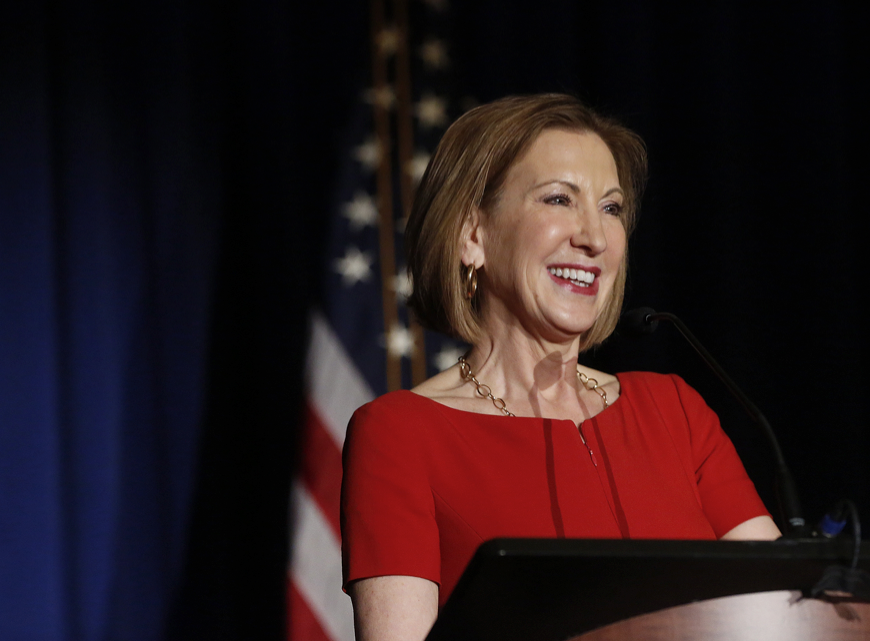 On Carly Fiorina