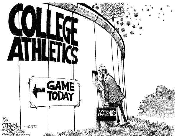 Debate: Are Athletics More Important Than Academics in America?