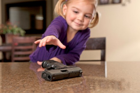 Breaking News: Toddlers and Guns Don't Mix