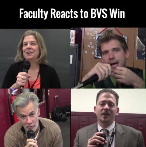 Faculty Opens Up About BVS Victory