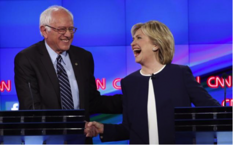 Hillary Feeling the Bern