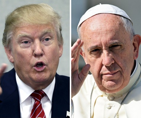 Pope Francis Calls Out Donald Trump's Christian Values