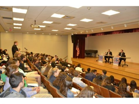 New York Assemblymen Hold Mock Press Conference