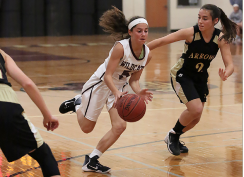 Girls' Basketball Undefeated Mid-Season