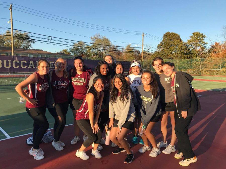 The+Lady+Wildcats+after+battling+out+the+toughest+match+of+their+playoff+season.